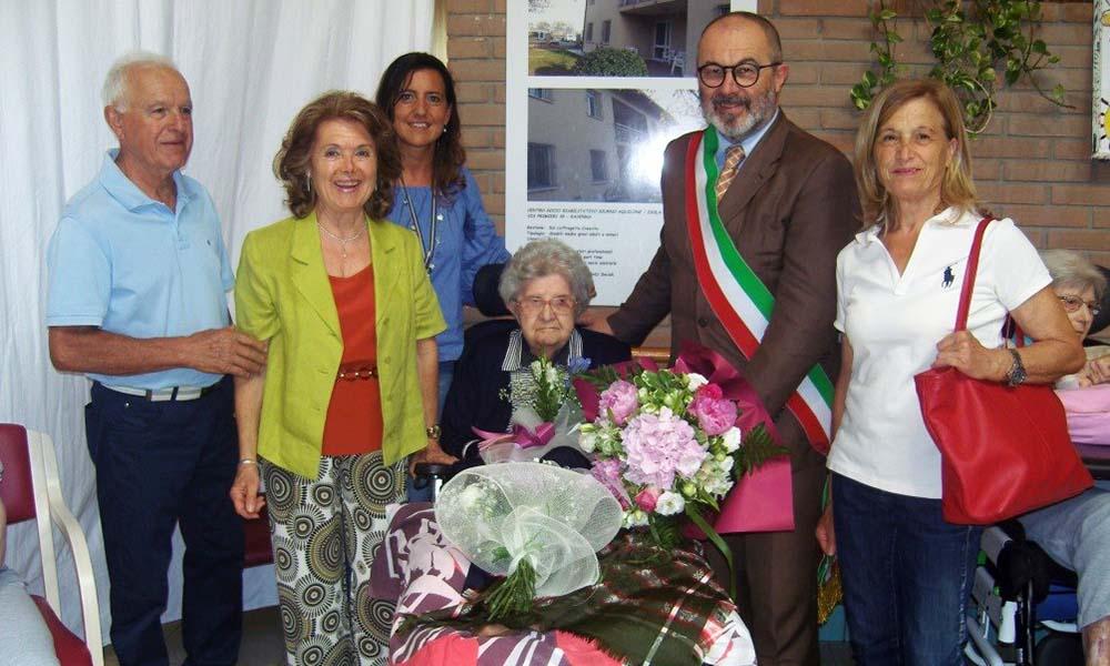La signora Maria Balducci ha compiuto 103 anni